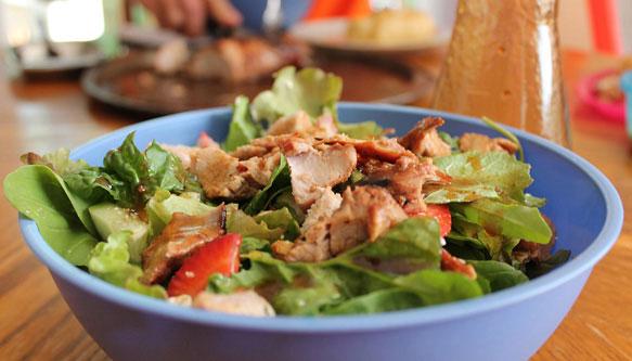 какой приготовить салат на ужин