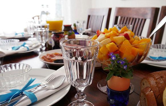 Фруктовый салат на завтрак