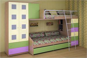 Кровати чердаки для подростков