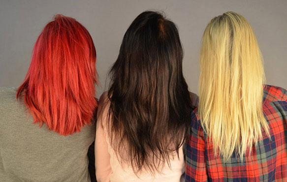 Красить волосы во сне