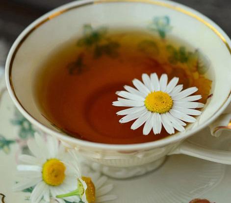 как приготовить чай с ромашкой