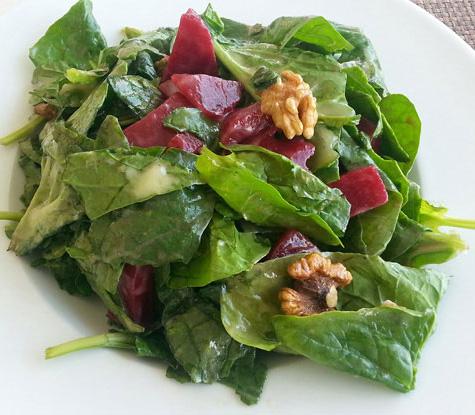 рецепты низкокалорийного салата
